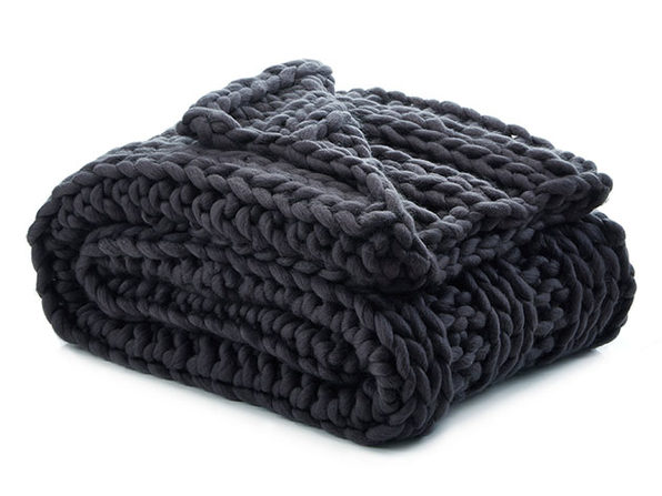 Cozy Tyme Francine Channel Knit Throw