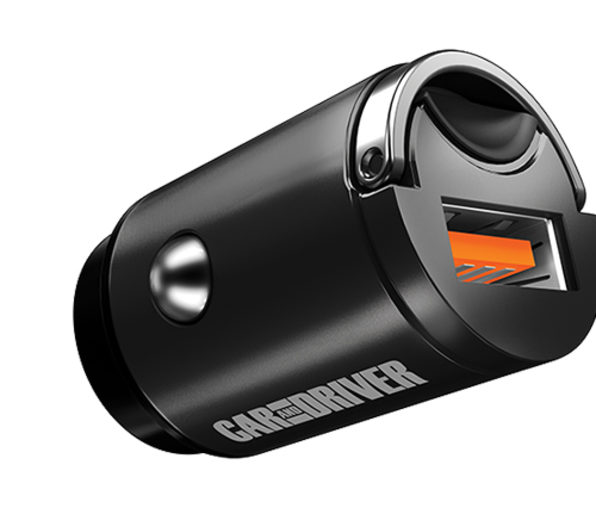 Car & Driver Nanobit Car Charger