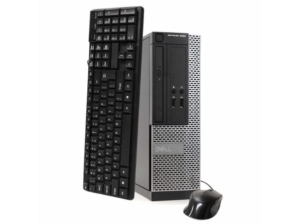 Dell OptiPlex 3020 Small Form Factor PC, 3.2 GHz Intel i5 Quad Core Gen 4, 8GB DDR3 RAM, 500GB SATA HD, Windows 10 Home 64 Bit (Refurbished Grade B)