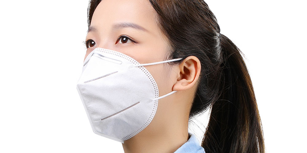 KN95 Folding 4-Layer Face Masks, on sale for $27.99 (20% off)