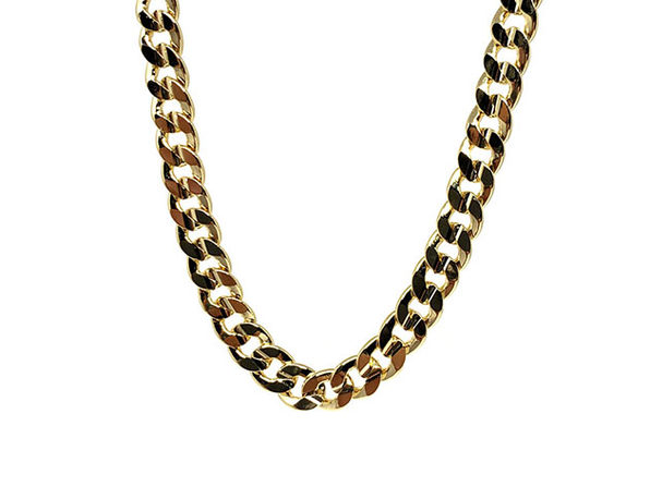 6mm Curb Chain Necklace