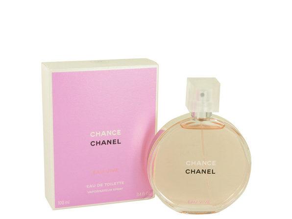 Chance Eau Vive by Chanel Eau De Toilette Spray 3.4 oz - Product Image