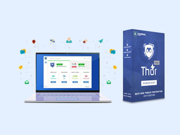 Heimdal Thor Foresight Home Malware Protection: Lifetime Subscription (1 PC)