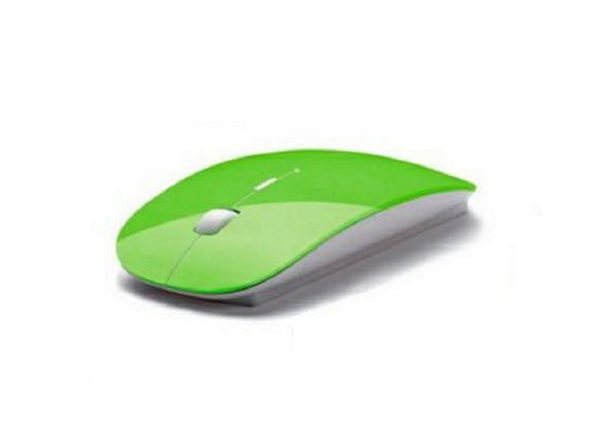 Wireless Optical Mouse (Green)