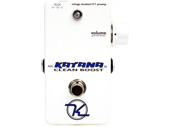 Keeley KATANA Katana Boost Far as Guitar Clean Boosts Stunning Sound Quality (Like New, Damaged Retail Box) - Product Image