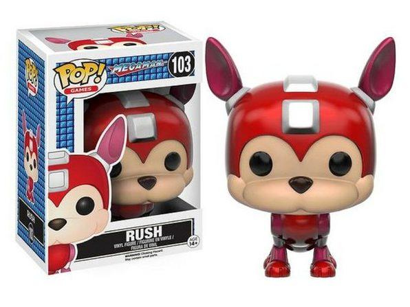 Funko Pop! Games Megaman Rush Vinyl Figure Toy #103 - Product Image