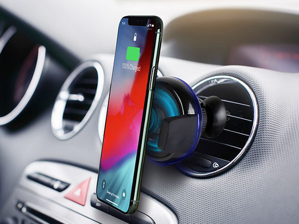 Aduro Qi-Certified Wireless Charging Vent Mount