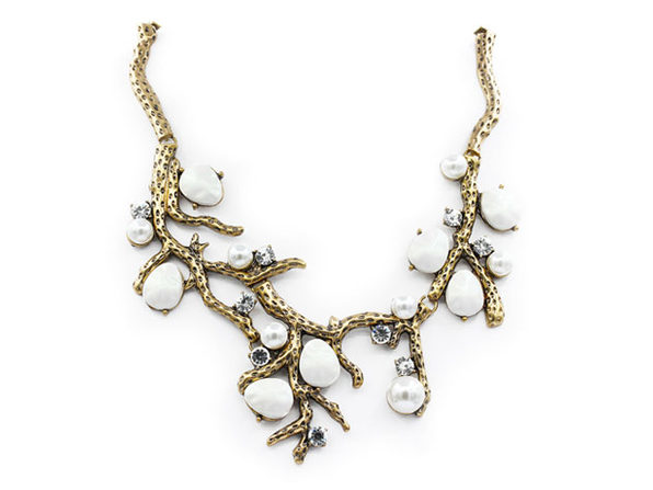 "Pearl Branch Necklace By ""The Countess"" Luann de Lesseps"