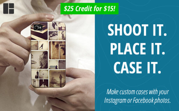 $15 For $25 Credit to Use on Any Casetagram Products - Product Image
