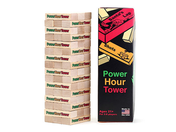 Power Hour Tower - Adult Party Game