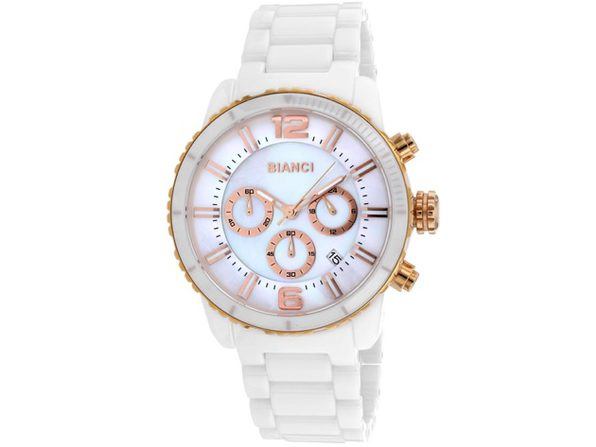 Roberto Bianci Men's Amadeo Mother of Pearl Dial Watch - RB58752 - Product Image