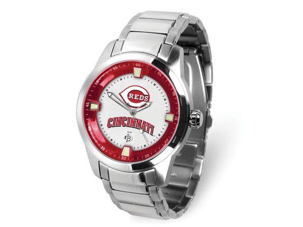 MLB Mens Cincinnati Reds Titan Watch - Product Image