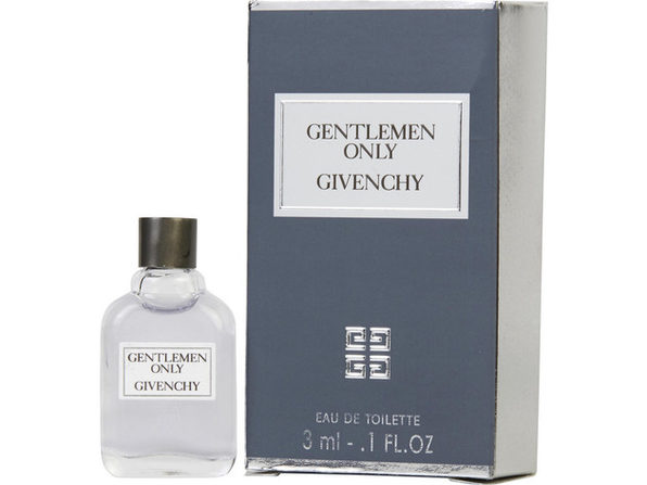 GENTLEMEN ONLY by Givenchy EDT .10 OZ MINI for MEN ---(Package Of 5)