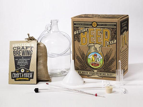 Craft Beer Homebrewing Kit (Hefeweizen)