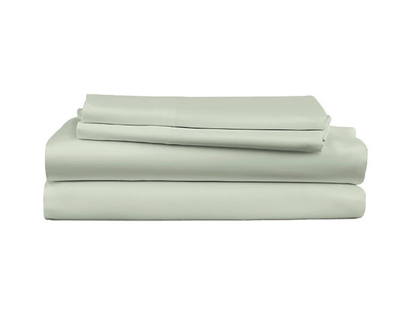 4-Piece Luxury Bamboo Sheet Set (Queen Sage Green)
