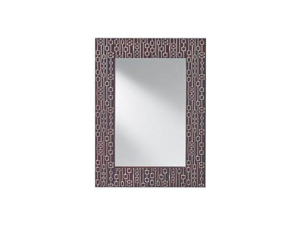 Feiss MR1198MHGHL Tessuto Mahogony with Hi Light Mirror - Mahogony