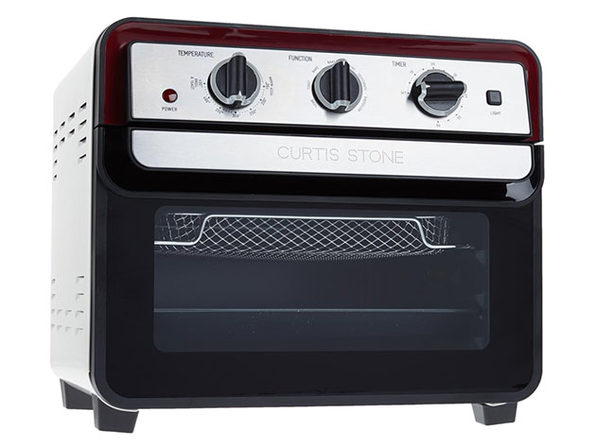 Curtis Stone Dura-Electric 22L Air Fryer Oven - Red (Refurbished)