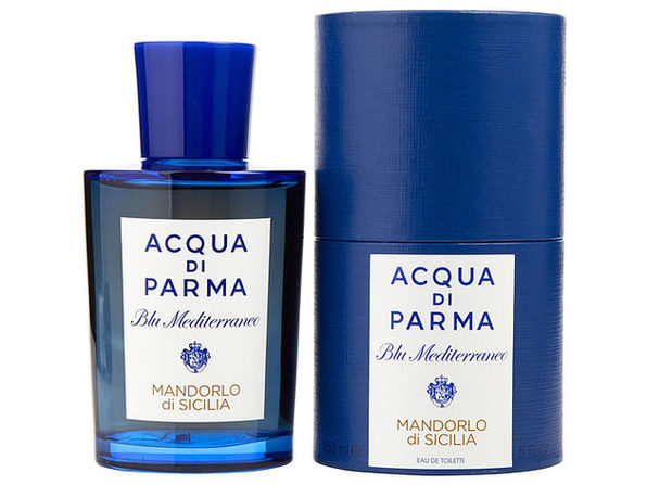 ACQUA DI PARMA BLUE MEDITERRANEO by Acqua Di Parma MANDORLO DI SICILIA EDT SPRAY 5 OZ 100% authentic - Product Image