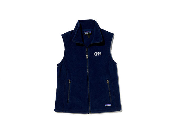 CNN Patagonia Women's Synchilla Vest (Navy)