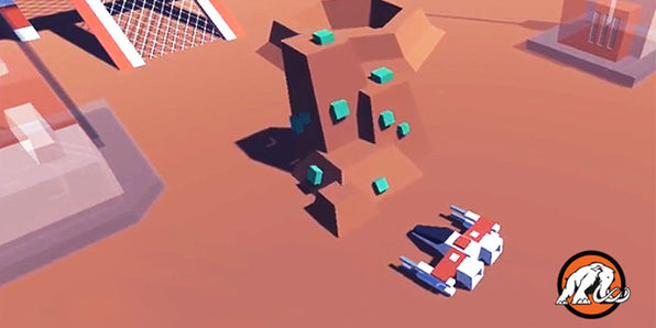 Make a Starship Unity Game Powered by Artificial Intelligence - Product Image