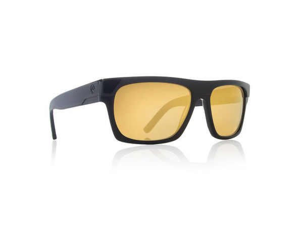 Dragon Alliance Viceroy Sunglasses Black Frames Gold Ion Lenses - Black