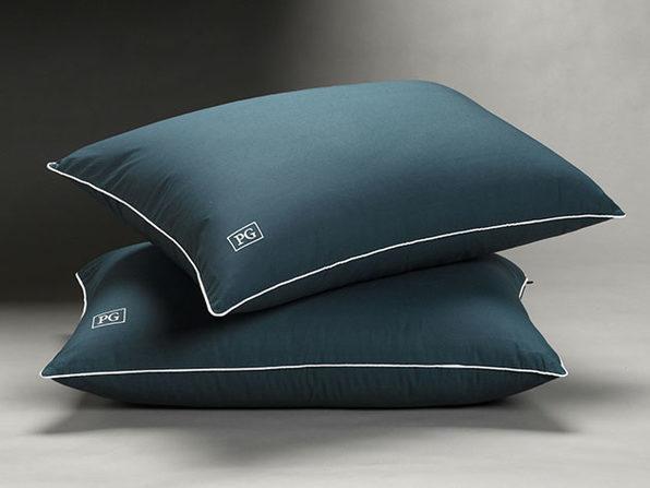 Soft Stomach Sleeper Down Alternative Pillow: 2-Pack (King)