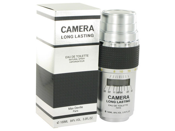 3 Pack CAMERA LONG LASTING by Max Deville Eau De Toilette Spray 3.4 oz for Men