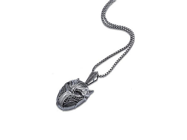 Black Panther Inspired Pendant Necklace