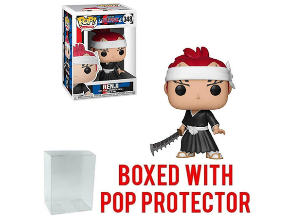 Funko POP - Bleach - Renji - with Pop Protector