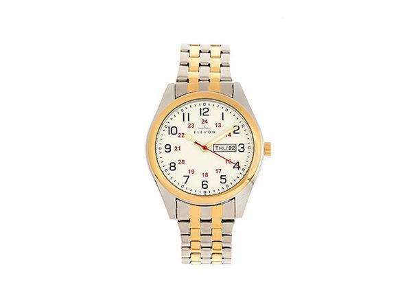 Elevon Gann Bracelet Watch (Gold/Silver)