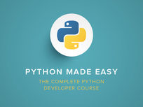 Python Made Easy - The Complete Python Developer Course - Product Image