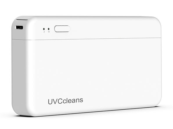 UVCcleans: World's First UVC Mask Box (2-Pack)