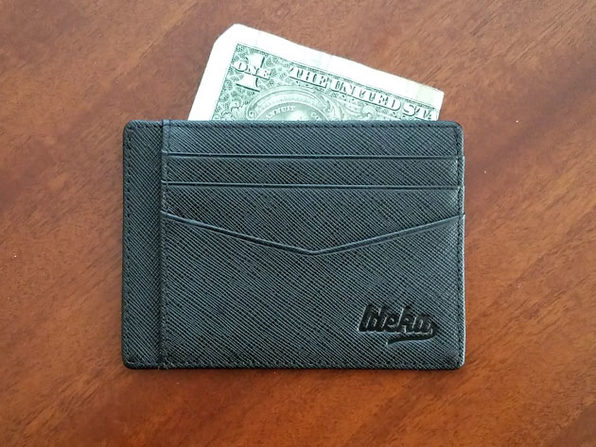 Saffiano Ultra-Slim RFID-Blocking Wallet