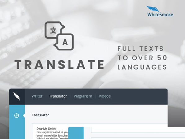 WhiteSmoke Grammar Checker: Lifetime Subscription (Business Plan)