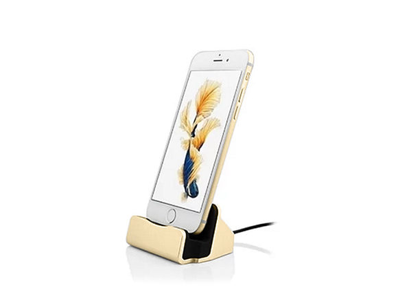 Charging Dock Station for iPhone - GOLD - Product Image