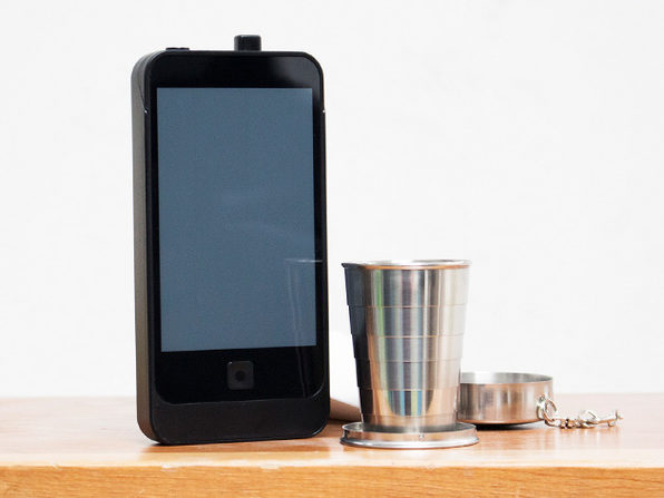 iFlask: 2-Pack + Collapsible Keychain Shot Glass