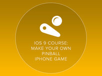 iOS 9 Course: Make Your Own Pinball iPhone Game in One Day without Coding - Product Image