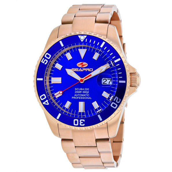Seapro Men's Scuba 200 Blue Dial Watch - SP4324
