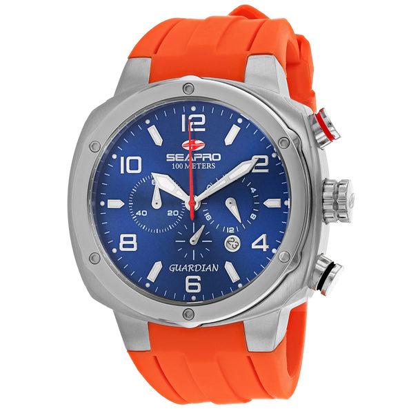 Seapro Men's Blue Dial Watch - SP3345