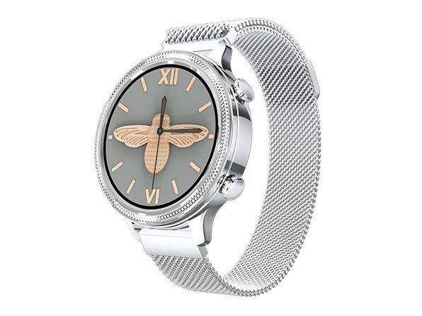 Fashion Tech Smart Watch (Silver)