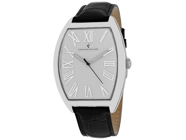 Christian Van Sant Men's SIlver Dial Watch - CV0270