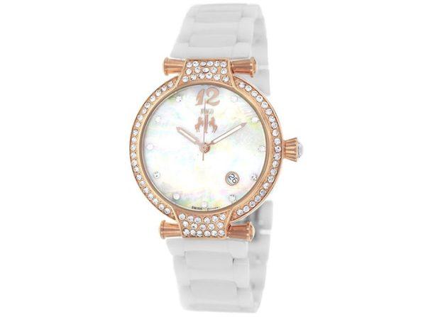 Jivago Women's Bijoux Silver MOP Dial Watch - JV2216