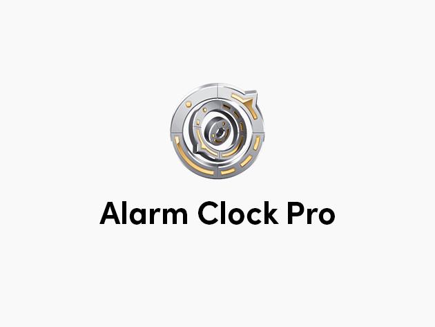 Stack Social Deal for Alarm Clock Pro: Lifetime License