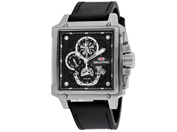 Seapro Men's Black Dial Watch - SP0111