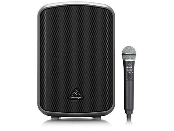 "Behringer Europort MPA200BT 8"" 200W Portable Wireless Speaker with Handheld Mic (Used, Damaged Retail Box) - Product Image"
