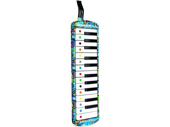 Hohner Kids Airboard HKAIR25 25-Key Plastic Portable Keyboard (Distressed Box)