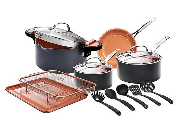 Gotham Steel™ Cookware Set (14-Piece)