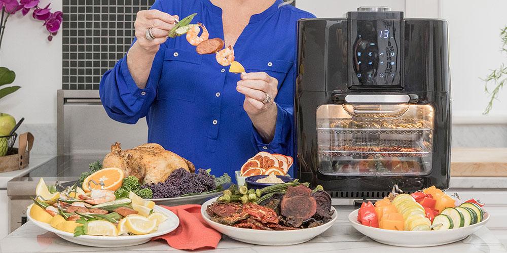 Paula Deen 13 QT (1700W) Family-Sized Air Fryer Oven