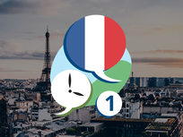 3 Minute French - Course 1: Language Lessons for Beginners - Product Image