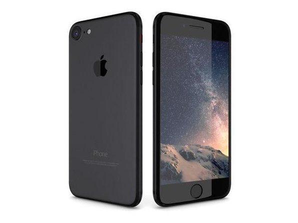 Apple iPhone 7 Unlocked 32GB Matte Black (Grade C) - Product Image